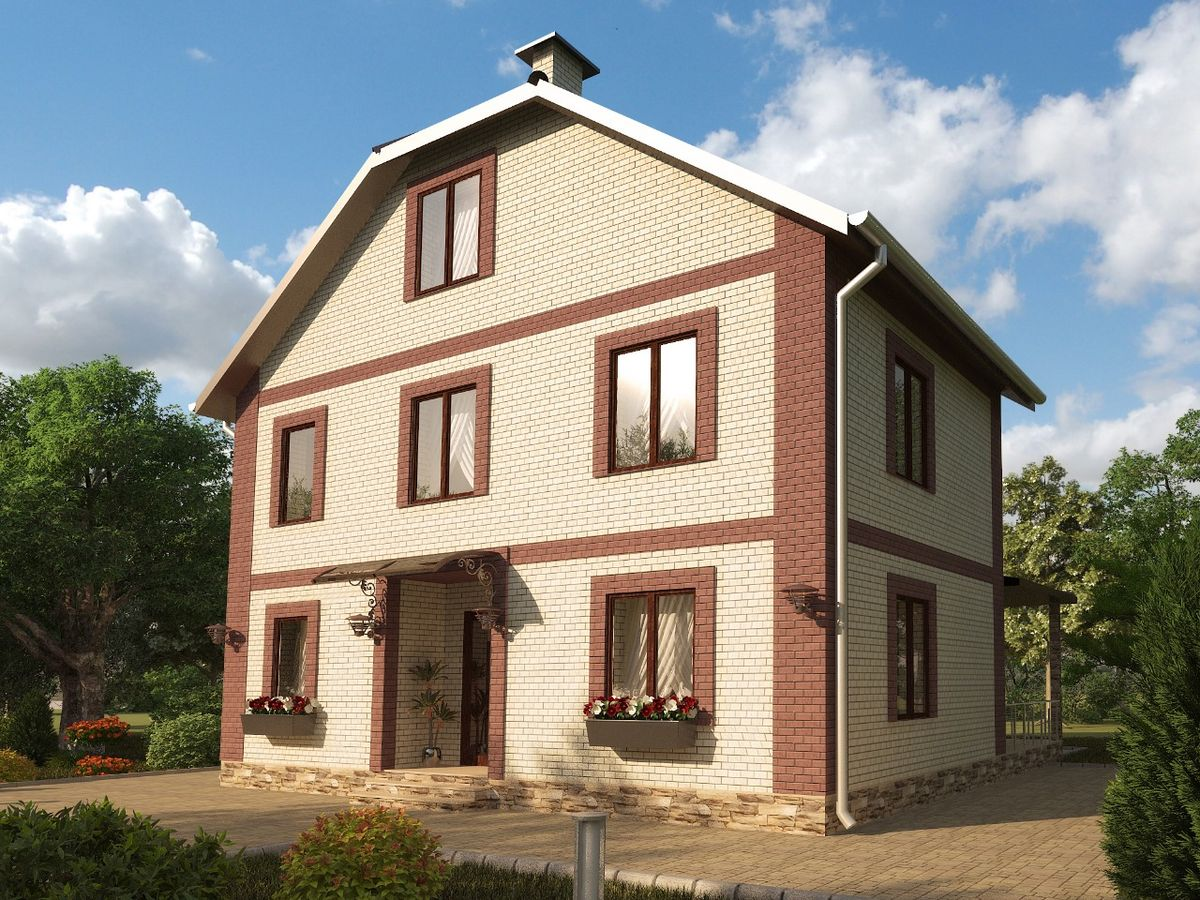 Архитектурные проекты Частные дома-04