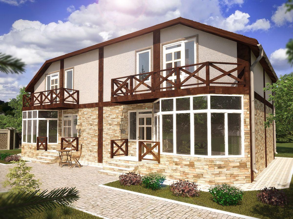 Архитектурные проекты Частные дома-05