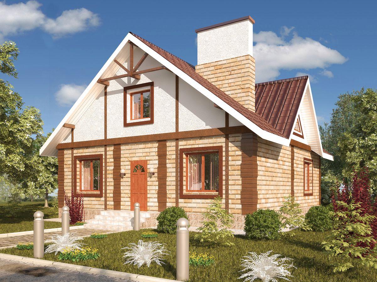 Архитектурные проекты Частные дома-06