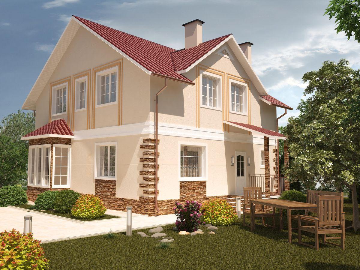 Архитектурные проекты Частные дома-09
