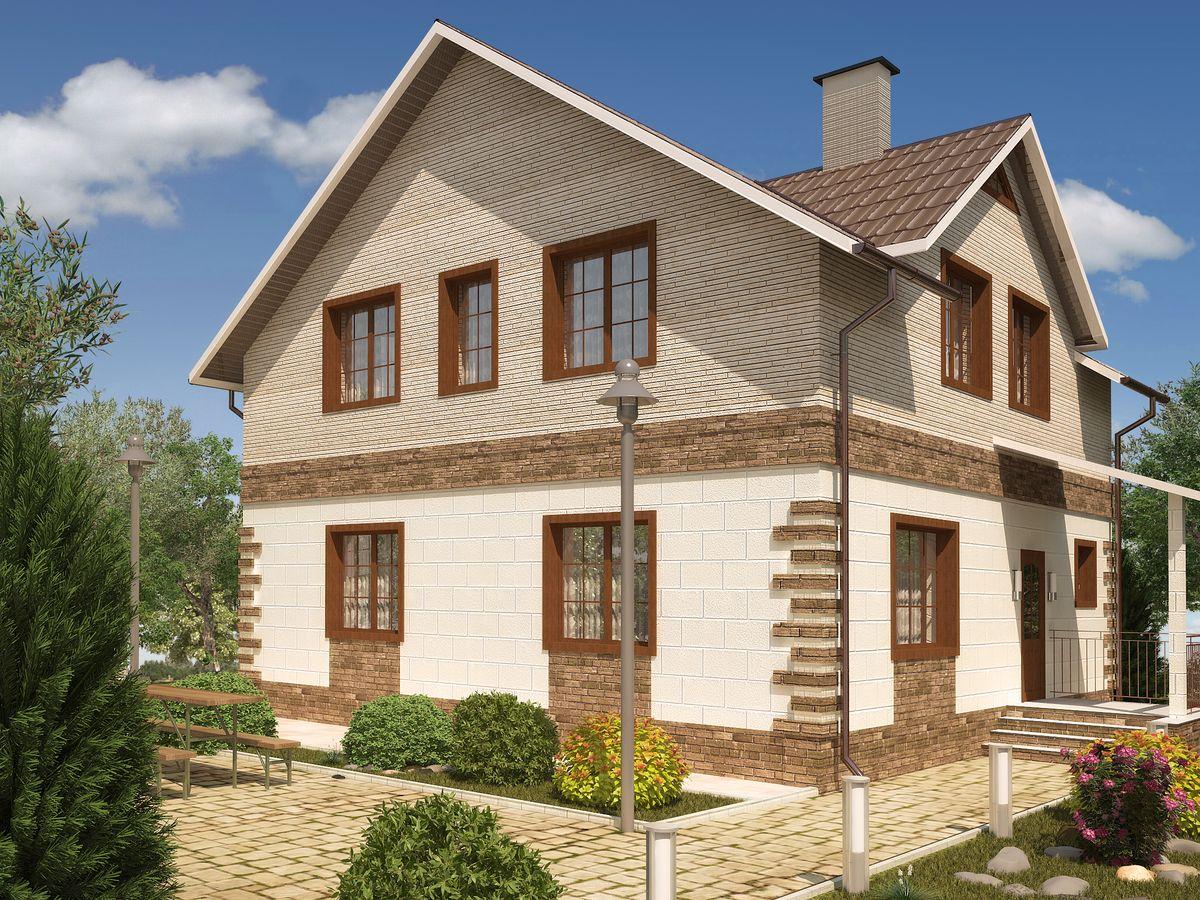 Архитектурные проекты Частные дома-10