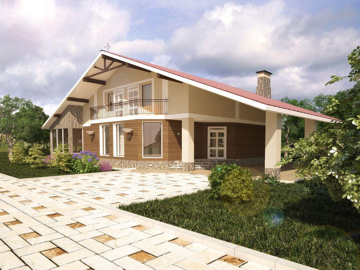 Архитектурные проекты Частные дома-11