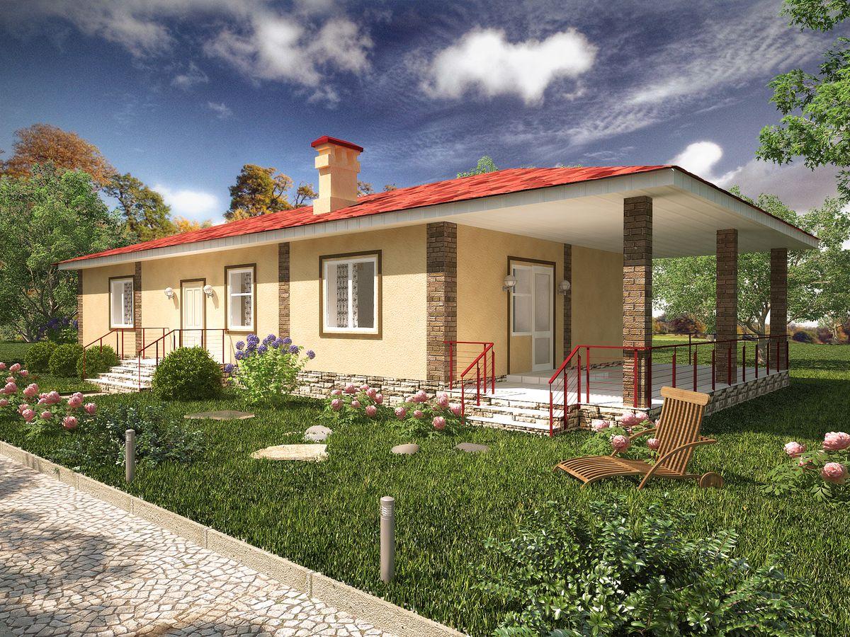 Архитектурные проекты Частные дома-12