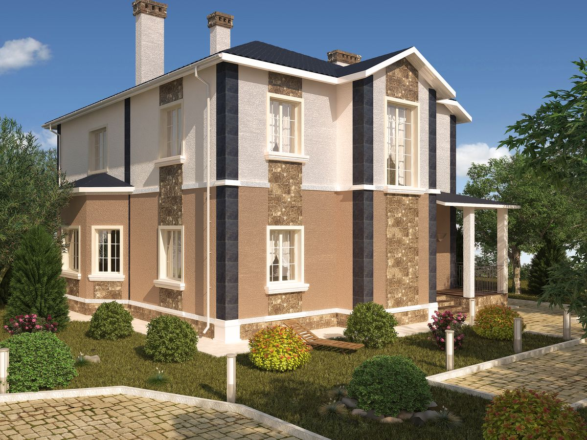 Архитектурные проекты Частные дома-13