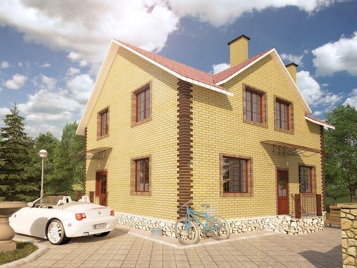 Архитектурные проекты Частные дома-14