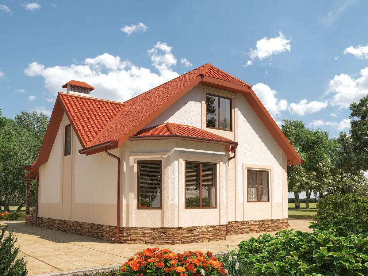 Архитектурные проекты Частные дома-18