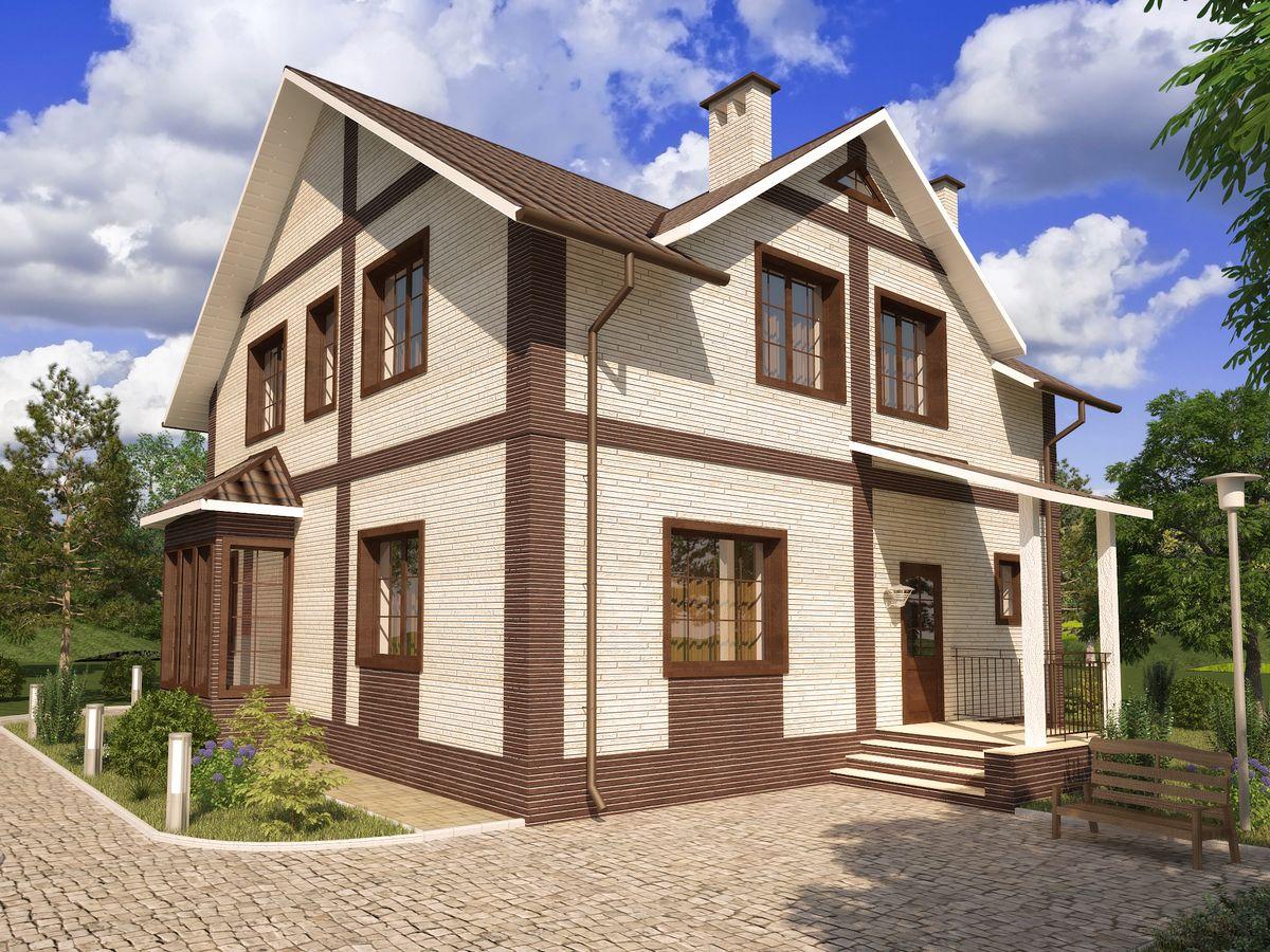Архитектурные проекты Частные дома-19