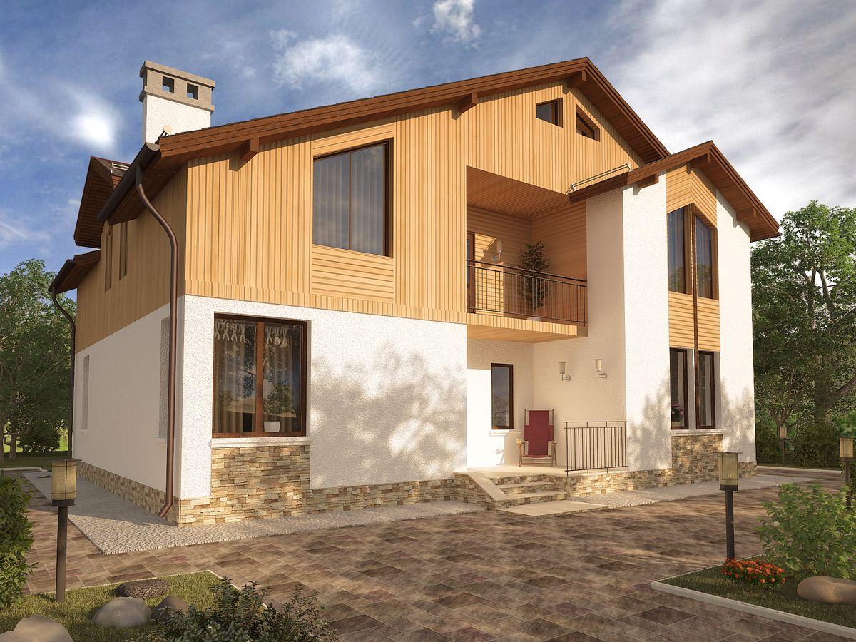 Архитектурные проекты Частные дома-25