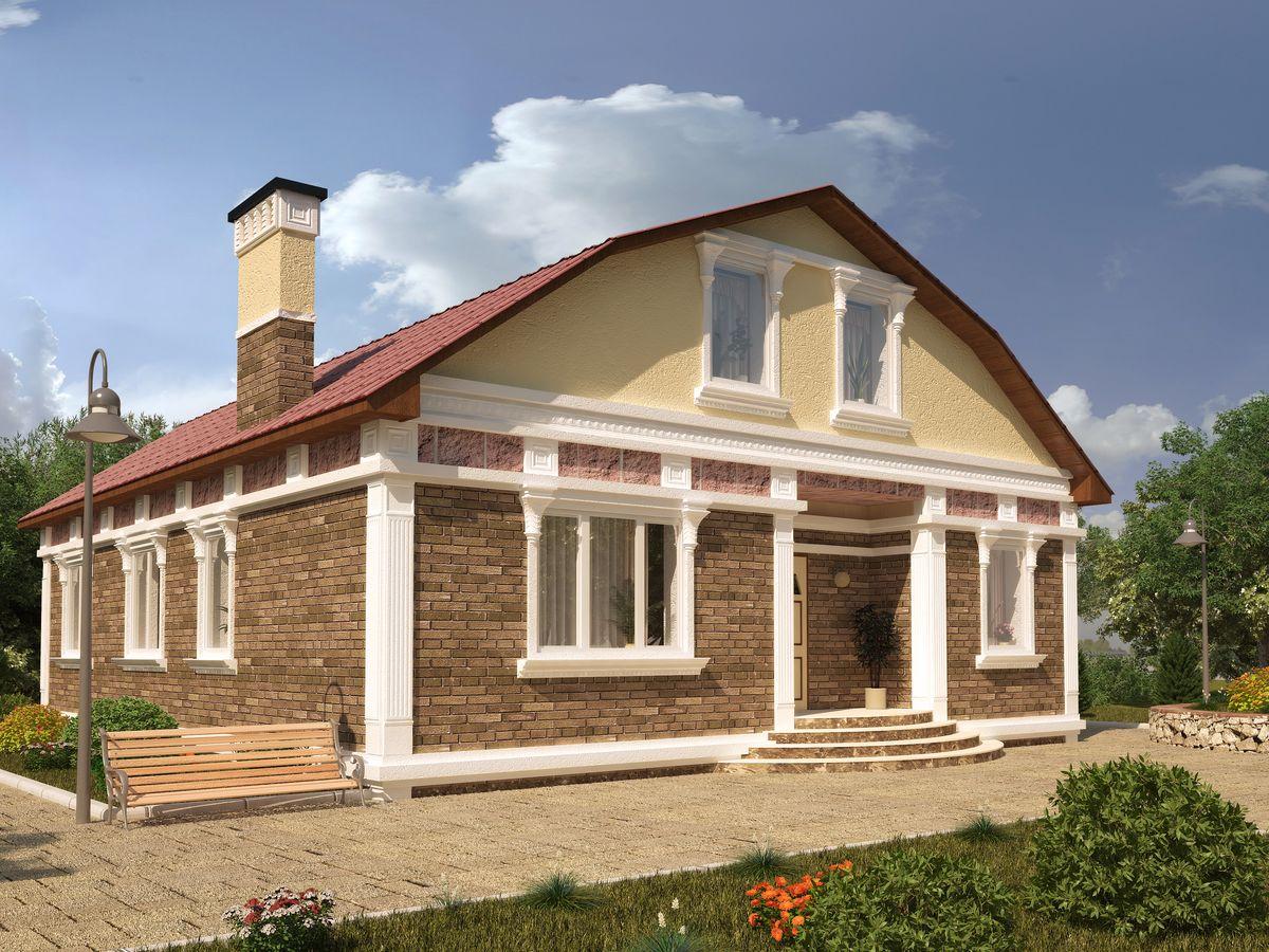 Архитектурные проекты Частные дома-26